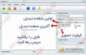 تبدیل PDF به ورد ، اکسل ، عکس