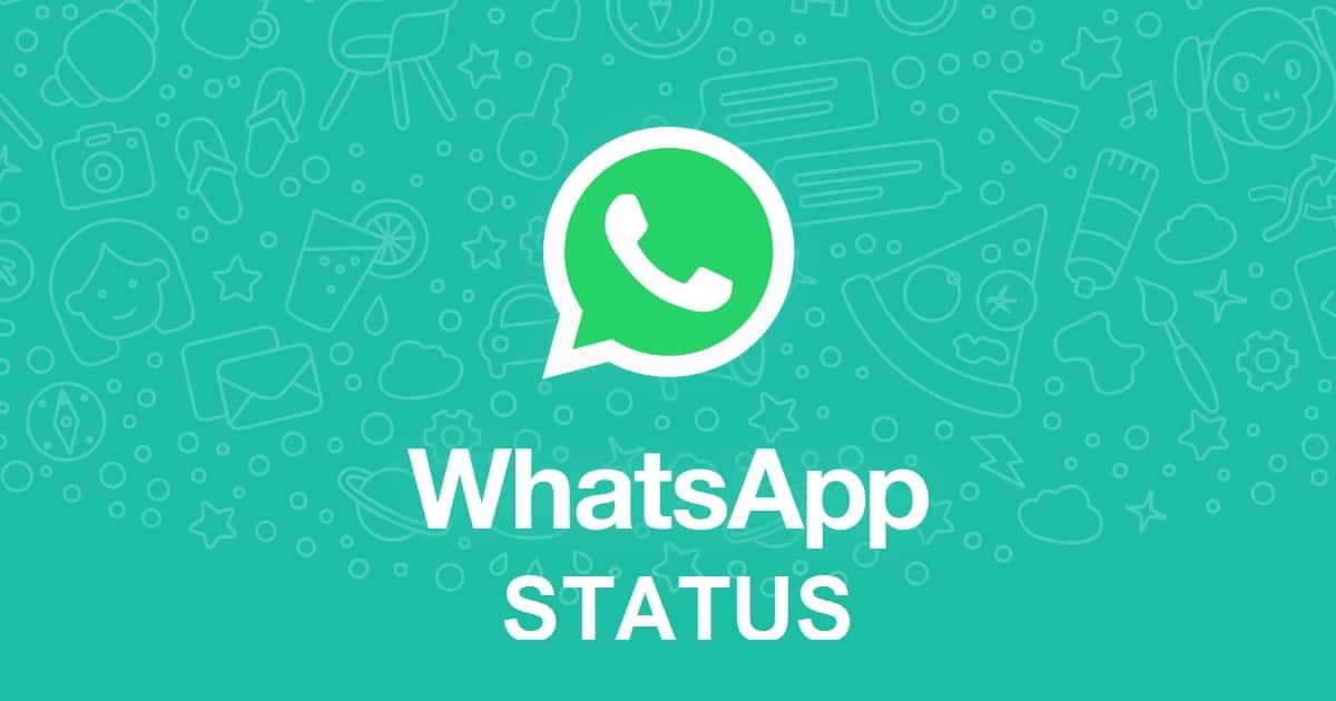 آموزش استوری کردن استاتوس در واتساپ