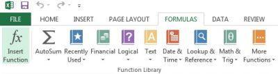 آموزش نحوه نوشتن فرمول در اکسل