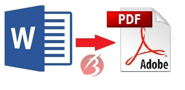 تبدیل فایل ورد به پی دی اف در آفیس ورد 2010 و 2013
