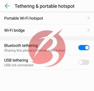 استفاده از بلوتوث جهت اتصال اینترنت گوشی به کامپیوتر