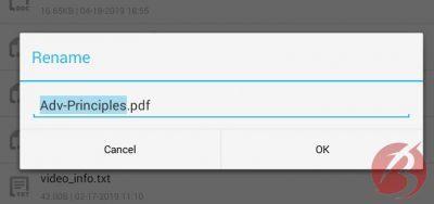 نحوه تغییر نام فایل در گوشی اندروید و تغییر پسوند تمامی فایل ها