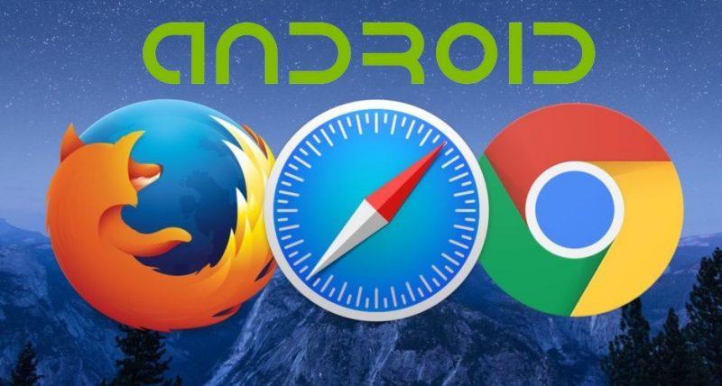 تغییر مسیر دانلود در مرورگر گوگل کروم و فایر فاکس به اندروید