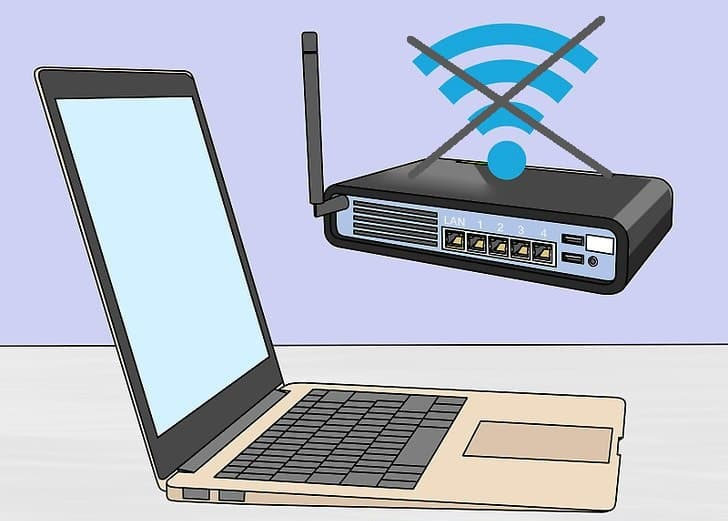 علت عدم اتصال لپ تاپ به وای فای و راه حل آن