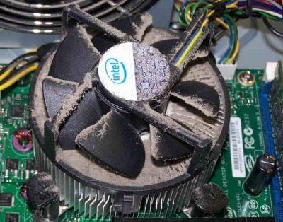 علت داغ شدن CPU در کامپیوتر و راه حل آن