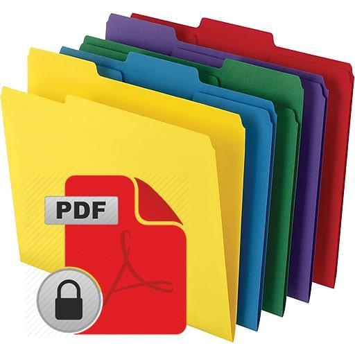 ۳ روش جهت قفل نمودن فایل PDF و جلوگیری از کپی کردن