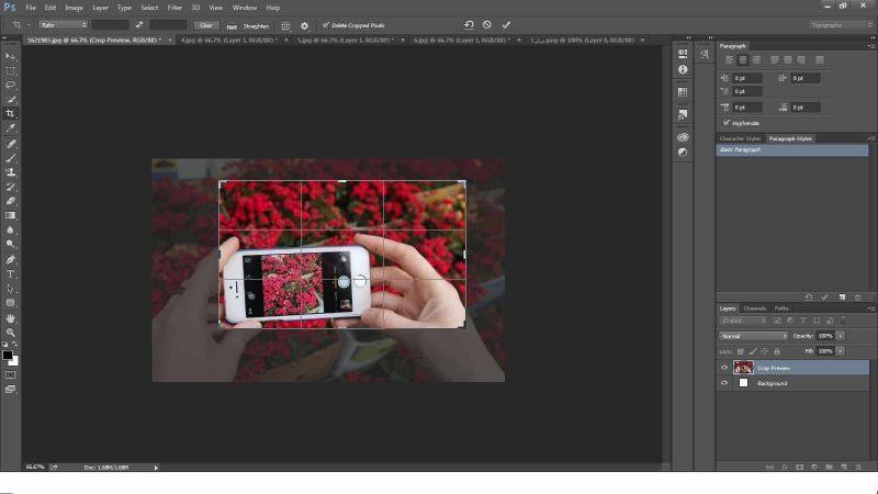 سه روش جهت تغییر اندازه عکس در فتوشاپ