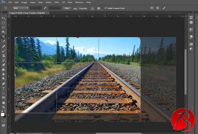استفاده از ابزار Ratio جهت برش تصاویر و قسمتی از عکس در فتوشاپ