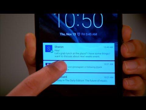 عدم نمایش پیام ها و برنامه ها روی صفحه قفل اندروید - صفحه اصلی