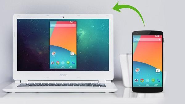 نمایش صفحه گوشی بر روی کامپیوتر - تصویر شاخص