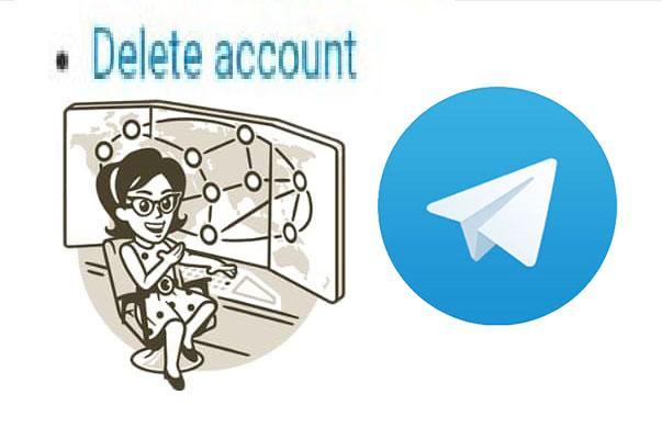 دیلیت و خروج از اکانت تلگرام - تصویر شاخص