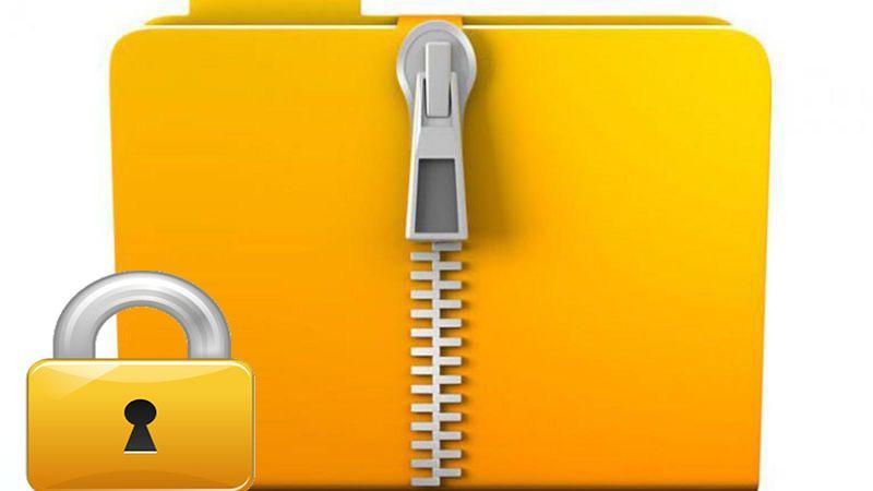 نحوه پسورد گذاشتن روی فایل zip - قفل فایل زیپ