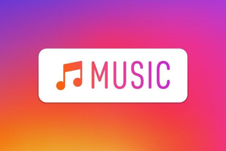 اضافه کردن استیکر موسیقی جهت اضافه کردن موسیقی به استوری اینستاگرام