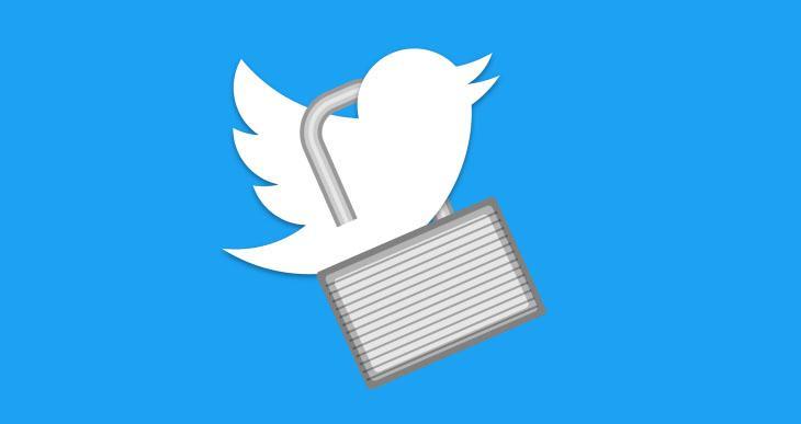 نحوه باز کردن حساب توییتری قفل شده - تصویر اول