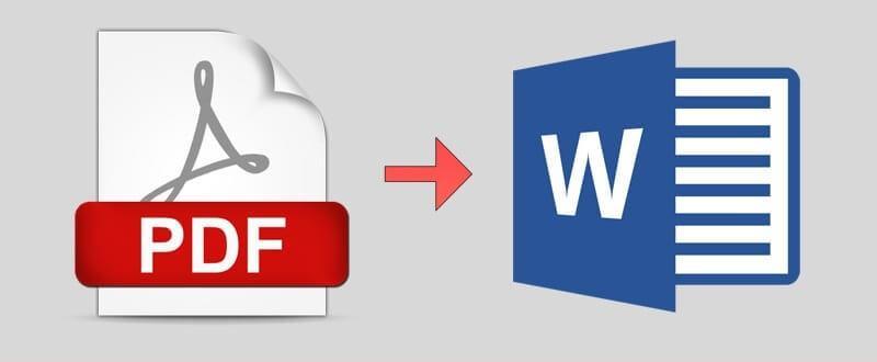 تبدیل فایل PDF به فایل Word - برتر رایانه