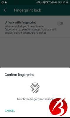 بالا بردن امنیت واتساپ در گوشی های اندروید و آیفون - تصویر نه