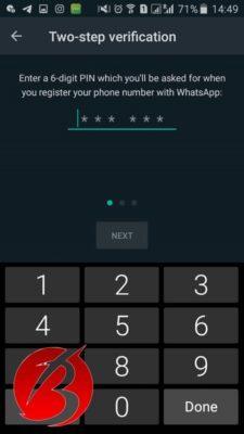 بالا بردن امنیت واتساپ در گوشی های اندروید و آیفون - تصویر سه