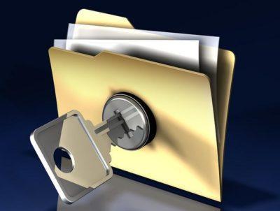 مخفی کردن فایل در کامپیوتر - تصویر یک