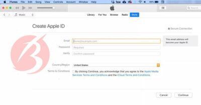 آموزش ساخت اپل آیدی رایگان بدون شماره تلفن - تصویر سه