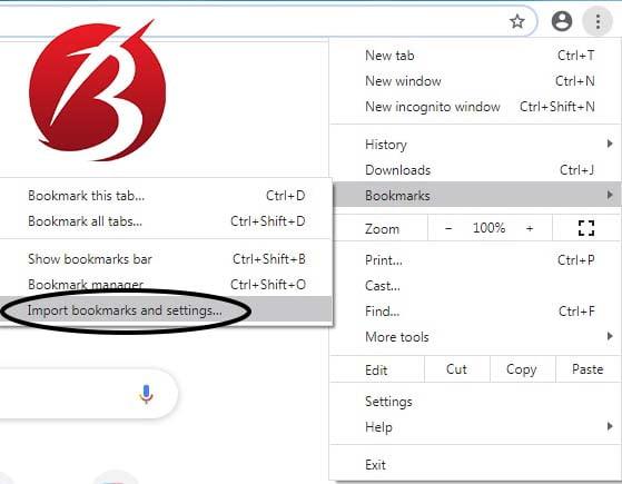 جابجایی داده های فایرفاکس به گوگل کروم - روش اتوماتیک