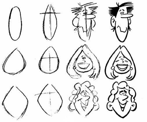 آموزش کاریکاتور - تصویر یک