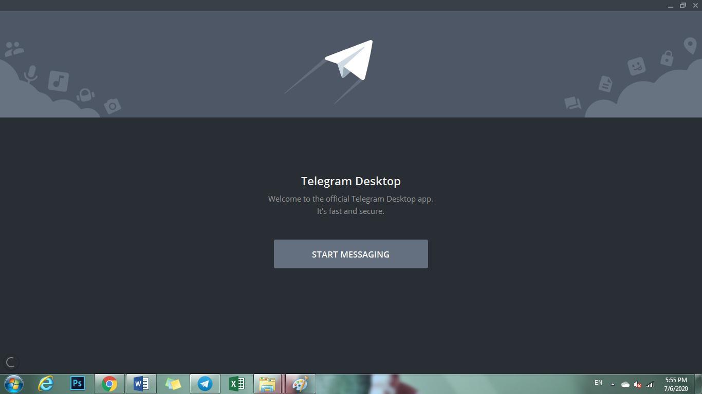 دانلود تلگرام برای کامپیوتر - تصویر اصلی