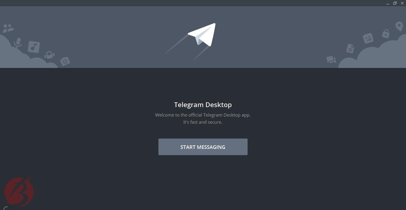 دانلود تلگرام برای کامپیوتر - تصویر نه