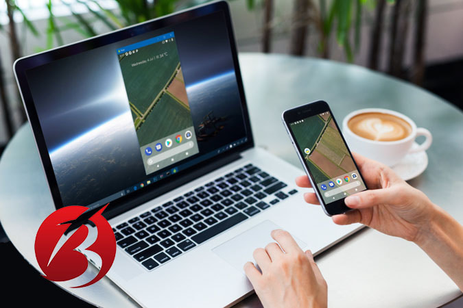 مشکل اسکرین شات نگرفتن گوشی اندروید - استفاده از نرم افزار کامپیوتری