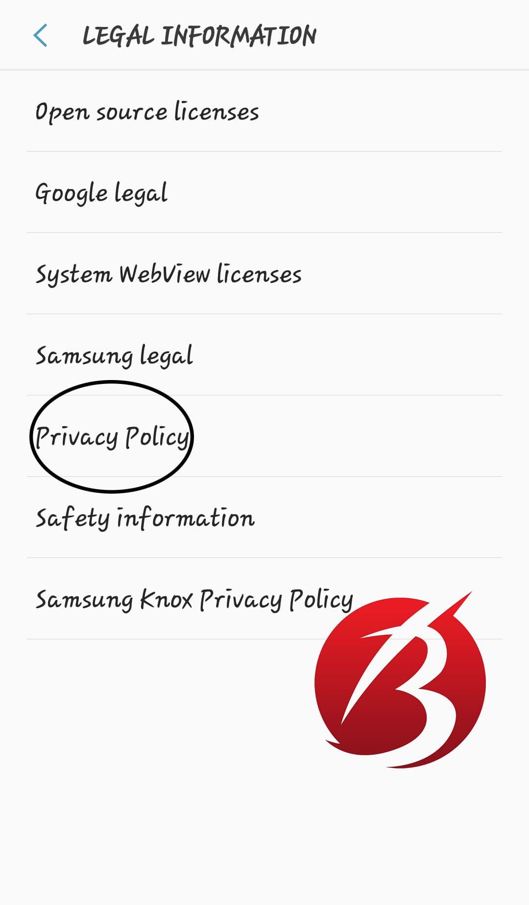 مشکل اسکرین شات نگرفتن گوشی اندروید - خط مشی تلفن همراه