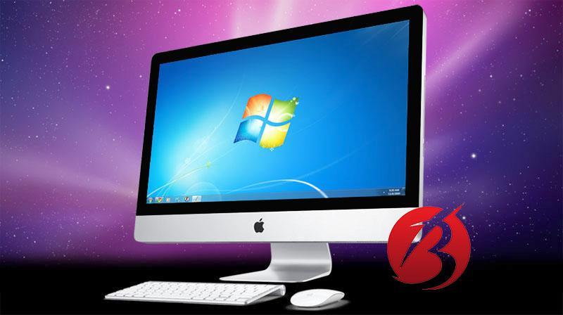 مقایسه کامپیوتر اپل و ویندوزی - نصب ویندوز در اپل