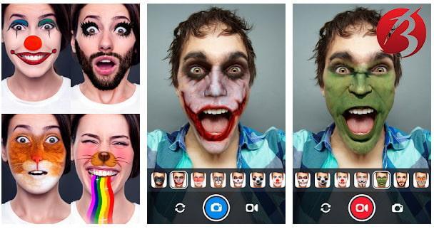 برنامه های تغییر چهره برای اندروید - Face Swap Live