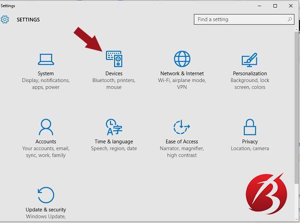 مشکل پرش موس - تنظیمات لپ تاپ