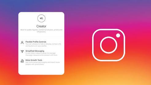 حساب Creator Account در اینستاگرام - آموزش تصویری