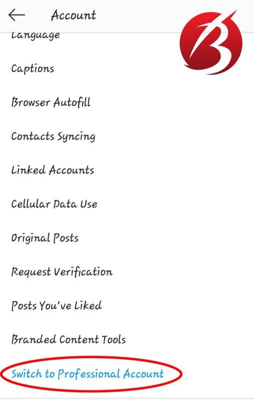 حساب Creator Account در اینستاگرام - عکس پنج
