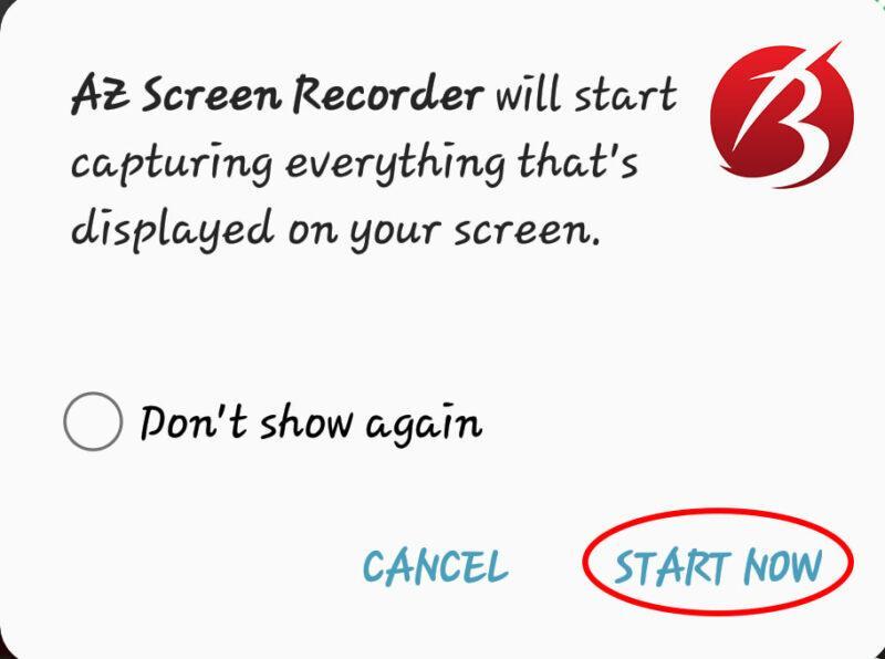 فیلم برداری از صفحه نمایش گوشی - مراحل فیلم برداری از صفحه نمایش موبایل