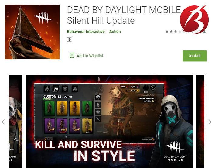 بازی های ترسناک - بازی Dead by Daylight Mobile