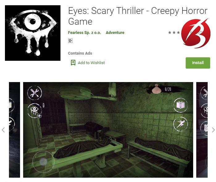 بازی های ترسناک - بازی Eyes – The Horror Game