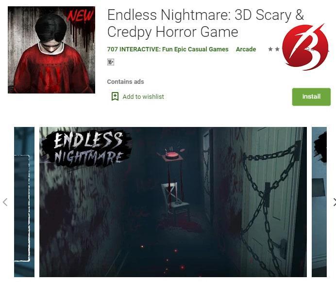 بازی های ترسناک - بازی Endless Nightmare