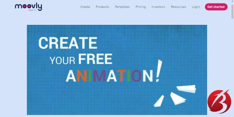 سرویس های رایگان ساخت موشن گرافیک - سایت moovly