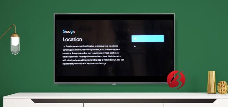 تنظیم لوکیشن توسط گوگل
