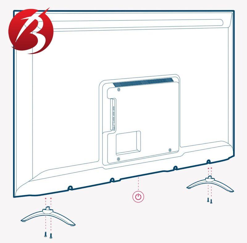 نصب تلویزیون Xiaomi - عکس چهار