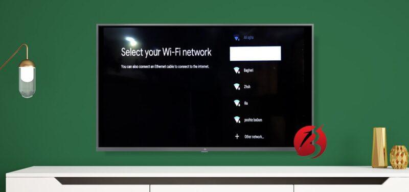 اتصال به اینترنت تلویزیون شیائومی
