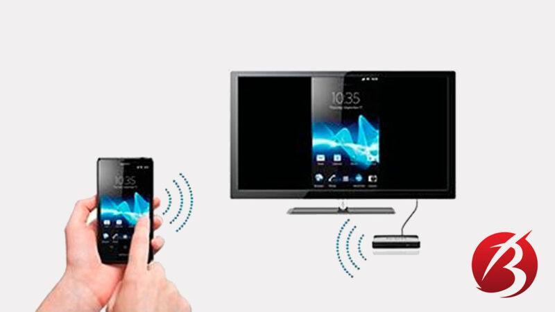 اتصال گوشی موبایل به تلویزیون - اتصال بی سیم
