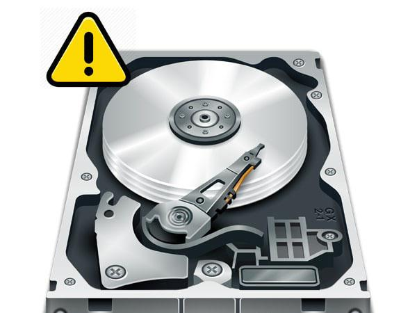 نشانه های خرابی هارد دیسک و حافظه داخلی کامپیوتر - وب سایت برتر رایانه