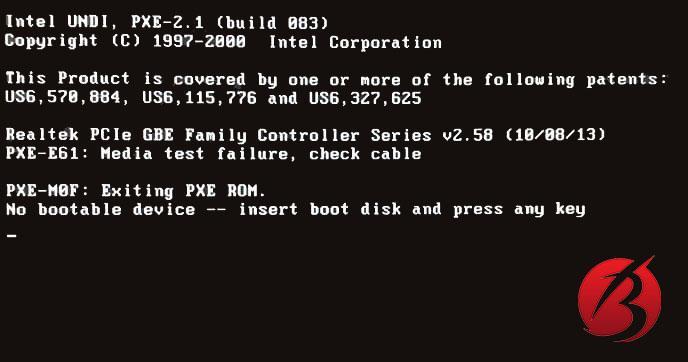 نشانه های خرابی هارد دیسک و حافظه داخلی کامپیوتر - بوت شدن کامپیوتر