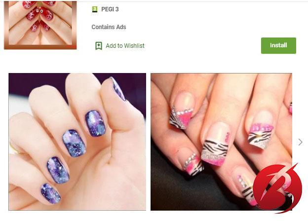 برنامه Easy nail designs