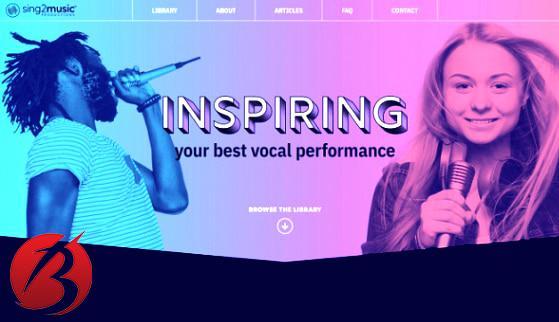 سرویس های دانلود موزیک خالی برای کارائوکه - سایت Sing2Music