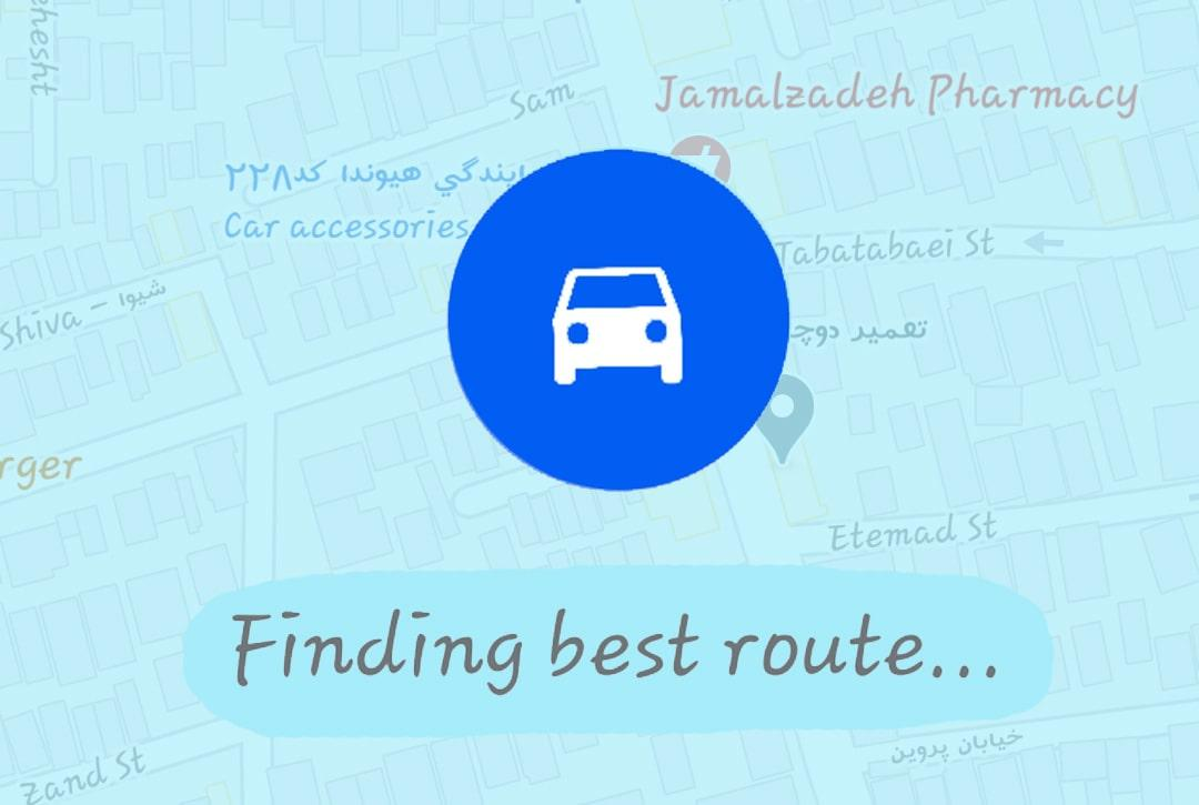 قابلیت مسیریابی گوگل مپ - وب سایت برتر رایانه