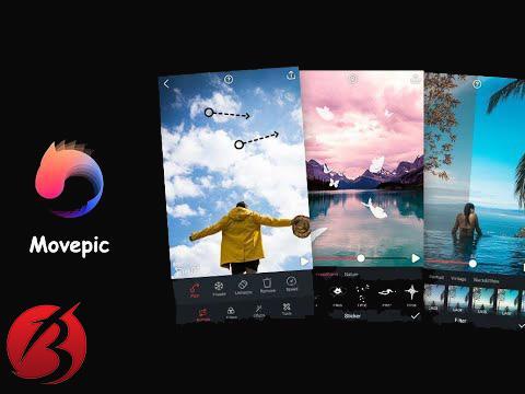 معرفی برنامه Movepic – Photo Motion