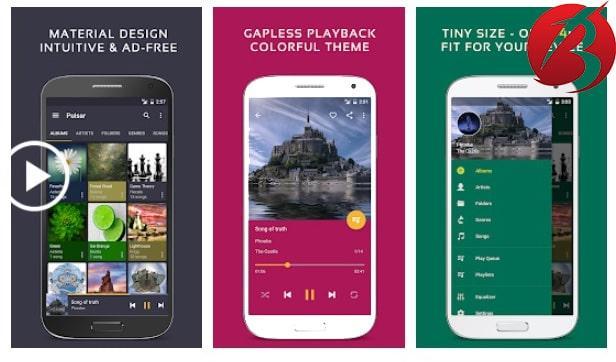 معرفی و دانلود برنامه PlayerPro Music Player